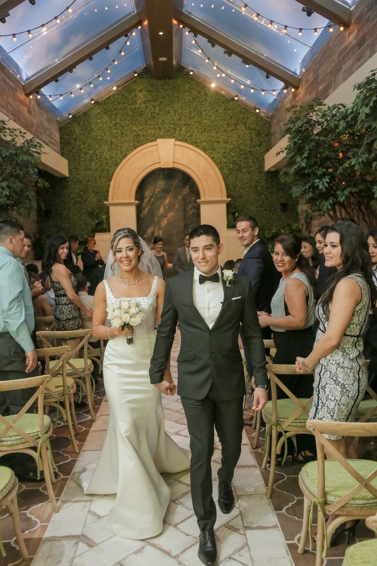Just Married in Las Vegas! Garden Wedding Venue | Indoor Wedding Chapel | Rustic Chic Weddings in Las Vegas at Chapel of the Flowers