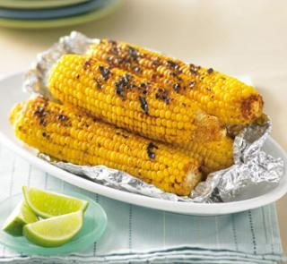 Chargrilled chilli-lime corn