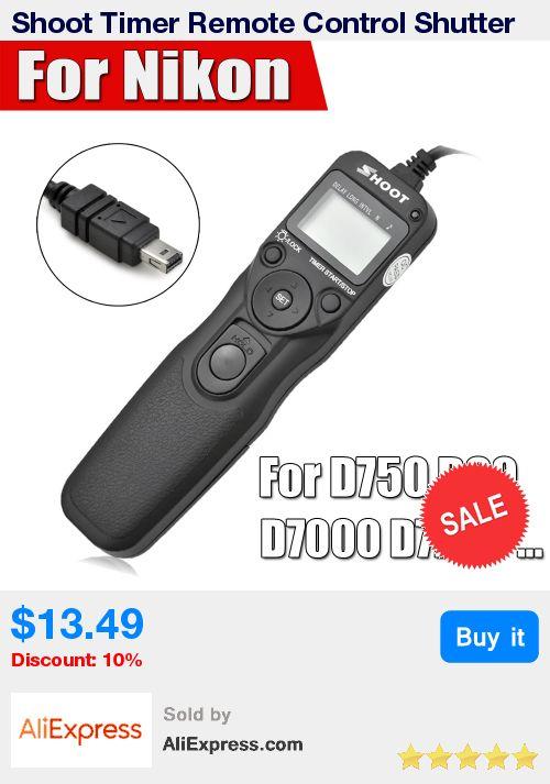 Shoot Timer Remote Control Shutter Release Cable Intervalometer for Nikon D750 D7100 D7000 D5100 D5200 D5000 D90 D3200 D3100 * Pub Date: 04:57 Apr 14 2017