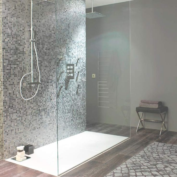 Silver Grey Mosaic Tiles Walls And Floors