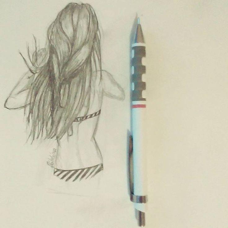 #scketch #youngartist #summer #beach #sea #sun #teenwolf #longhair  #saturdaynight #instapic #fashionblogger #fashiondesigner