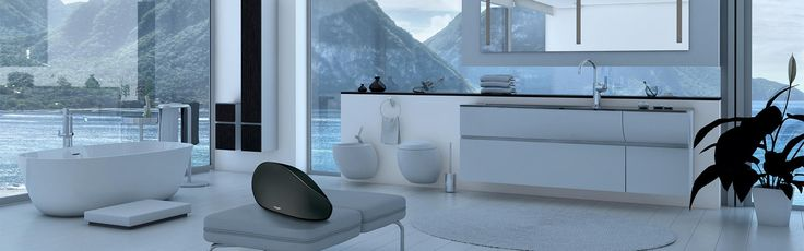 Aston Martin Zygote - a luxurious wireless audio system for your home. A sound experience that touches all your senses