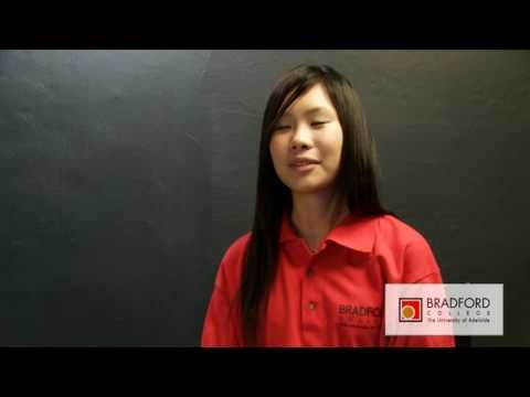 Students from Hong Kong talk about their experience at Bradford College **ENGLISH**, BradfordCollegeAUS (22 Jun 2010).