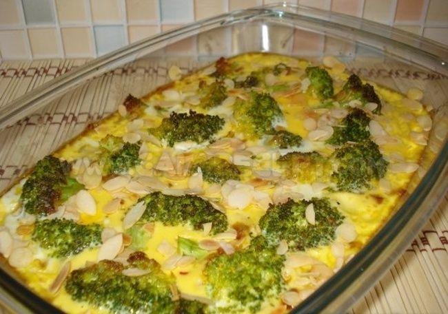 Fitness zapékaná brokolice se sýrem