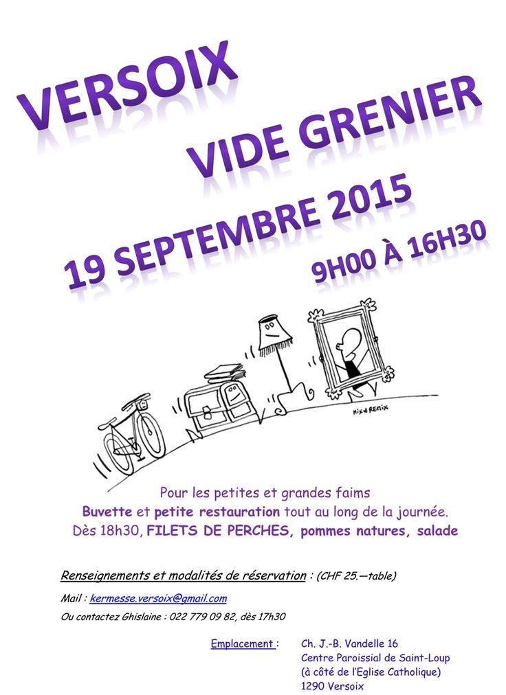Versoix Vide Grenier / Car Boot Sale, 19 September 2015