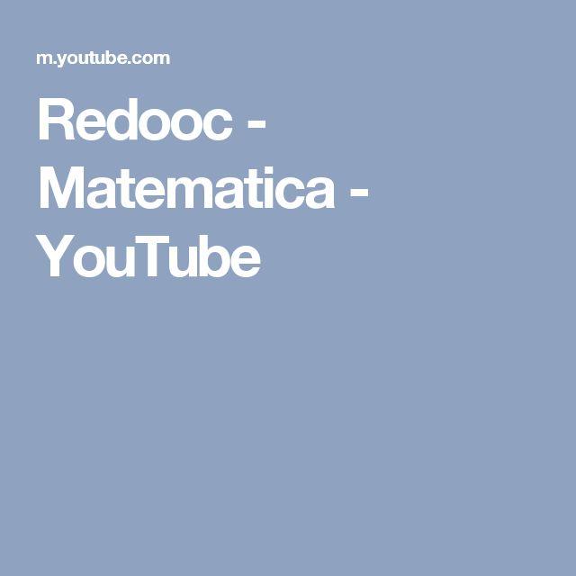 Redooc - Matematica - YouTube
