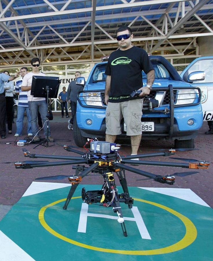 Anac autoriza Drones de até 25kg e até 120m de altitude