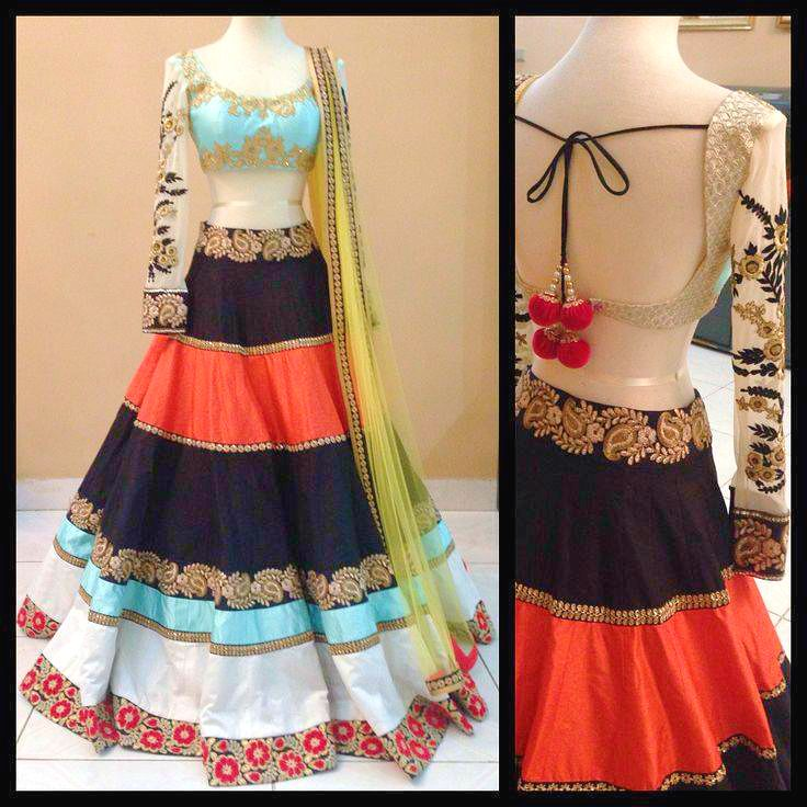 """Wear what you #love & Look #gorgeous as you #wanted to Be"" #lehenga #latest #fashion & #Trend By #BeaucaSarees"