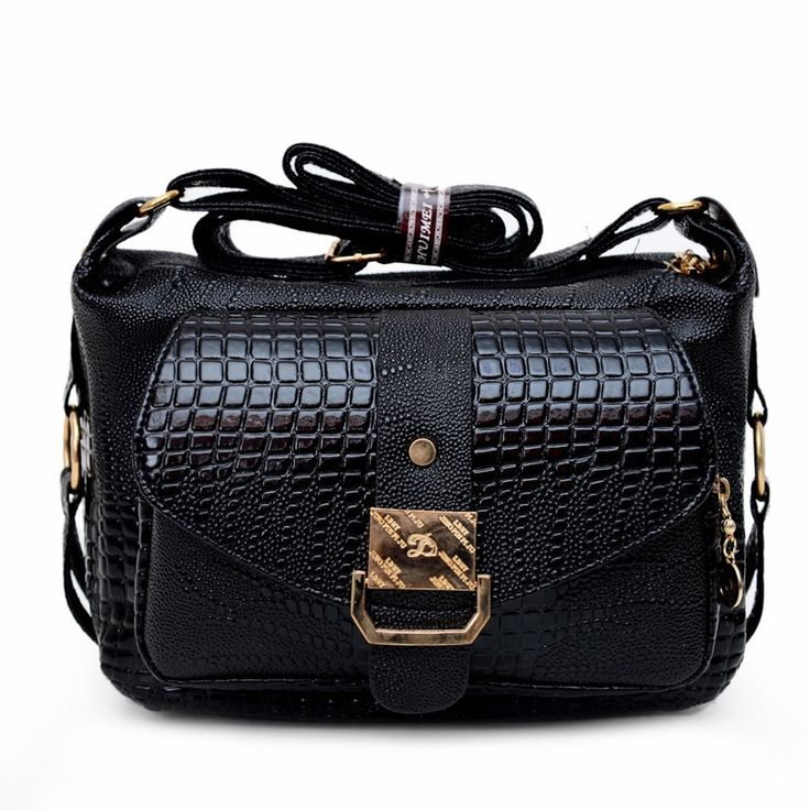 37.99$  Buy now - http://alia9s.shopchina.info/go.php?t=32804350550 - Noble Lady's Shoulder Bag Crocodile Leather Messenger Bag Small Satchel Middle-aged Package Mother Bag Fashion Women Gift Bag 37.99$ #buyininternet