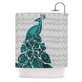 $105.93 Found it at AllModern - Peacock Polyester Shower Curtain