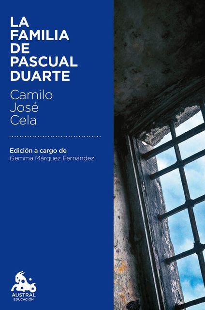 """La Familia de Pascual Duarte"" CAMILO JOSÉ CELA Spain"