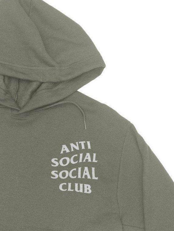 Anti Social Club Hoodie - Anti Social Social Club Sweatshirt - Kanye West Hoodie - Paranoid - yeezy hoodie - Yeezus Hoodie   #SocialClub #Hoodies