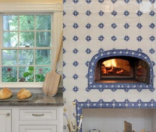 Traditional U-shaped Pale Yellow kitchen, white cabinets ...