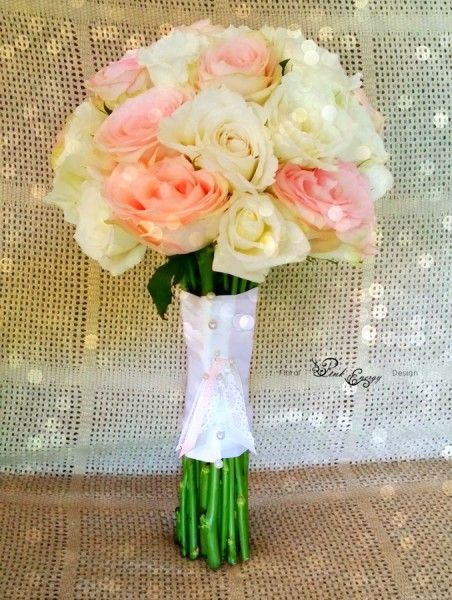 Bridal bouquet - simplistic elegance - Floral Design  by www.pinkenergyfloraldesign.co.za