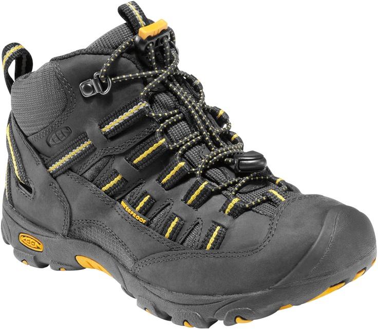 Youth Alamosa WP Black/Yellow #playgroundready  Dillon LOVES Alamosa's!  These boots would be perfect for him!: Alamosa Wp, Playgroundready Dillon, Black Yellow Nice, Youth, Black Yellow Playgroundready, Boy, Hiking, Big Kids Ready