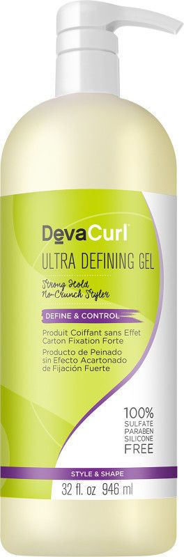Deva Curl Ultra Defining Gel 32 oz / 946 ml sulfate paraben silicone free #DevaCurl