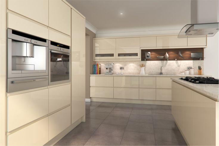 An Innova Luca Gloss Cream kitchen design idea