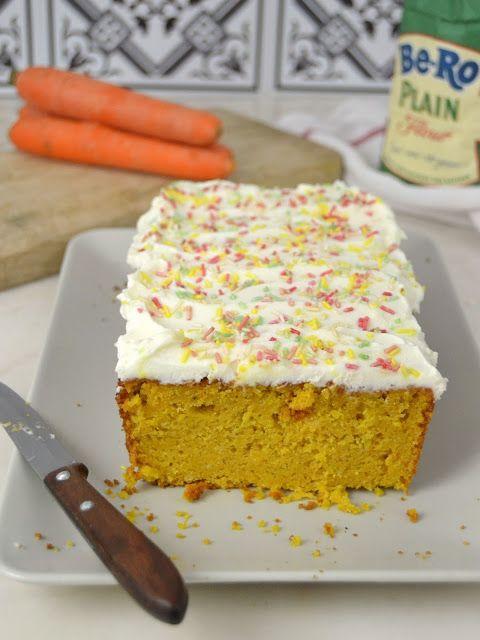 Cuuking! Recetas de cocina: Bizcocho de zanahoria con crema de queso