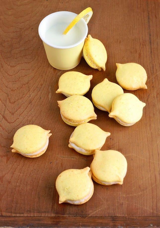 Whip up these Lemon Macarons for dessert.