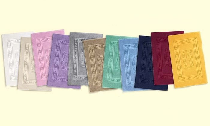 Groupon Goods Global GmbH: Tappeti da bagno made in Italy disponibili in varie misure e colori