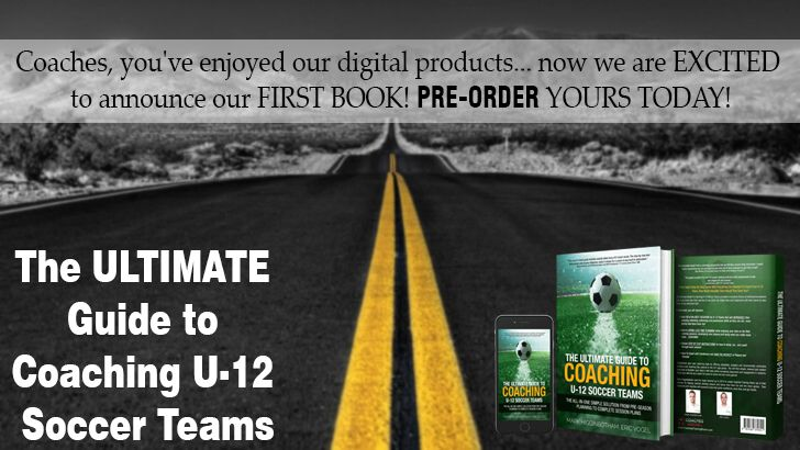 Pre-Order Today! The Ultimate Guide To Coaching U-12 Soccer Teams provides a complete coaching library of professional sessions and must-know tips that coaches of any level can easily implement with their teams to take them to the next level FAST! https://go.coachestrainingroom.com/ultimate-guide-u-12 #ayso #youthsoccer #coachingsoccer #soccerdrill #soccerdrills #soccercoaches #nikesoccer #nscaa #youthcoach #kidssoccer #ussoccer #uswnt #usmnt #barclays #soccertraining #soccerplan…