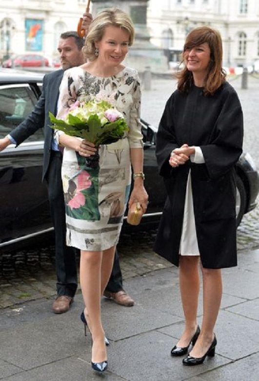 321 best Queen Mathilde of Belgium images on Pinterest | Royal house ...