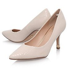 Buy KG by Kurt Geiger Evie Mid Heeled Stiletto Court Shoes Online at johnlewis.com