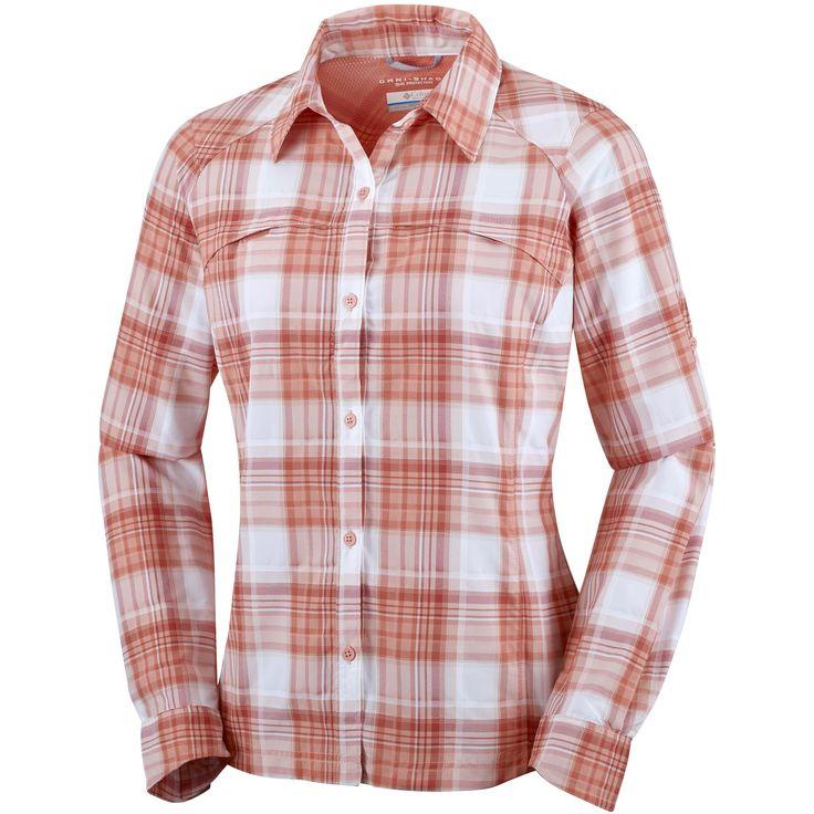 Doorout Angebote Columbia Silver Ridge Plaid L/S Shirt women Freizeitbluse apricot Damen Gr. XL: Category:…%#Quickberater%