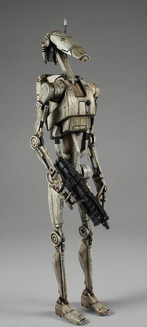 "A1 PLASTIK: Star Wars Trade Federation Battle Droid (12"")"