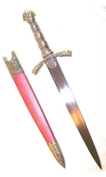 Arme: Dague en tungstène 082541d8c538bb5a86b16464ab376156--medieval-armor