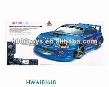 1:7 4 wd gas powered rc car