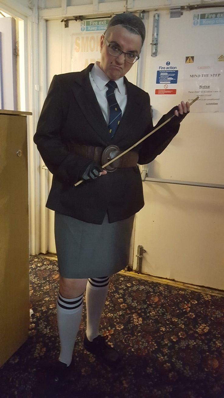 Miss Trunchbull Matilda fancy dress costume
