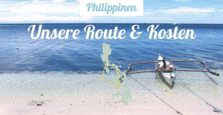4 Wochen Rundreise durch Philippinen • Eine Reiseroute inkl. Kosten: Manila ▶︎ Donsol ▶︎ Bohol ▶︎ Siquijor ▶︎ Palawan