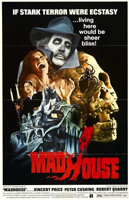 The Girl Who Loves Horror: Movie Review: Madhouse (1974)
