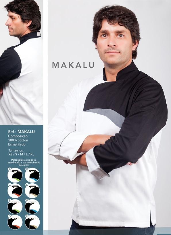 Jaleca Makalu/Makalu chef coat