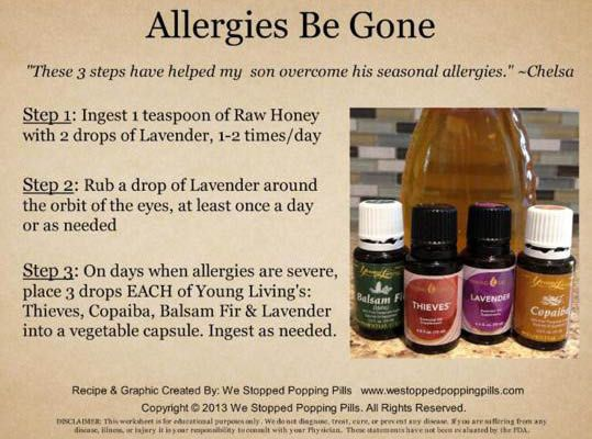 Young Living Essential Oils: Allergies