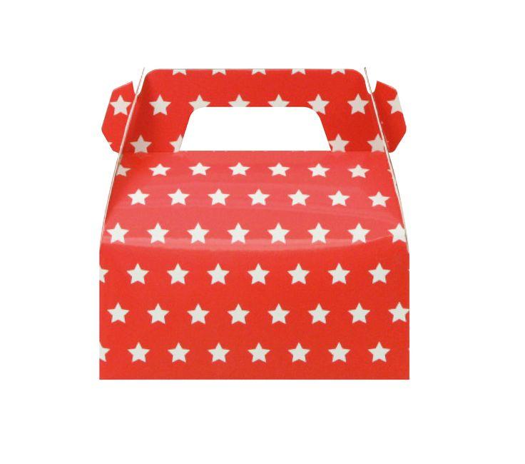 Pack of 10 Red Star Gable Boxes, Super Hero Gable Boxes, Super Hero Party Favor, Marvel Party Gable Boxes, Star Gable Boxes, Red Gable Boxes by MookiPartyShop on Etsy