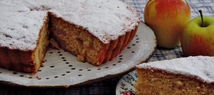 Luchtige cake met gebakken appels | Lekker Tafelen