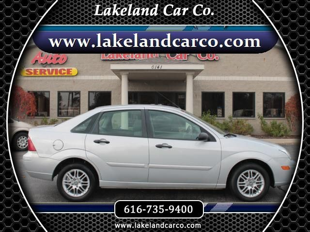 2007 Ford Focus ZX4 SE  #LakelandCarCo #MI #GrandRapids #Cars #Trucks #Preowned #Quality #Ford #Inventory #Drivetoday