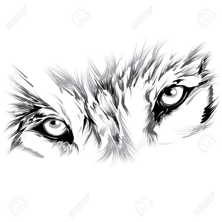 Best 25 geometric wolf tattoo ideas on pinterest for Wolf eyes tattoo designs