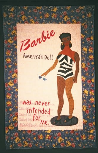 American Folk Art @ Cooperstown: The 'Black Barbie' doll quilt was created by Kyra Hicks.