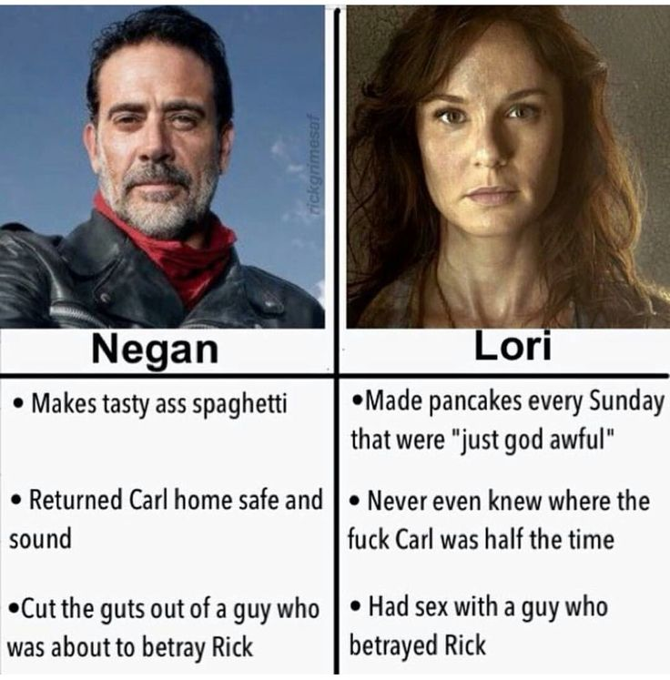 Fuggin' hated Lori from the beginning