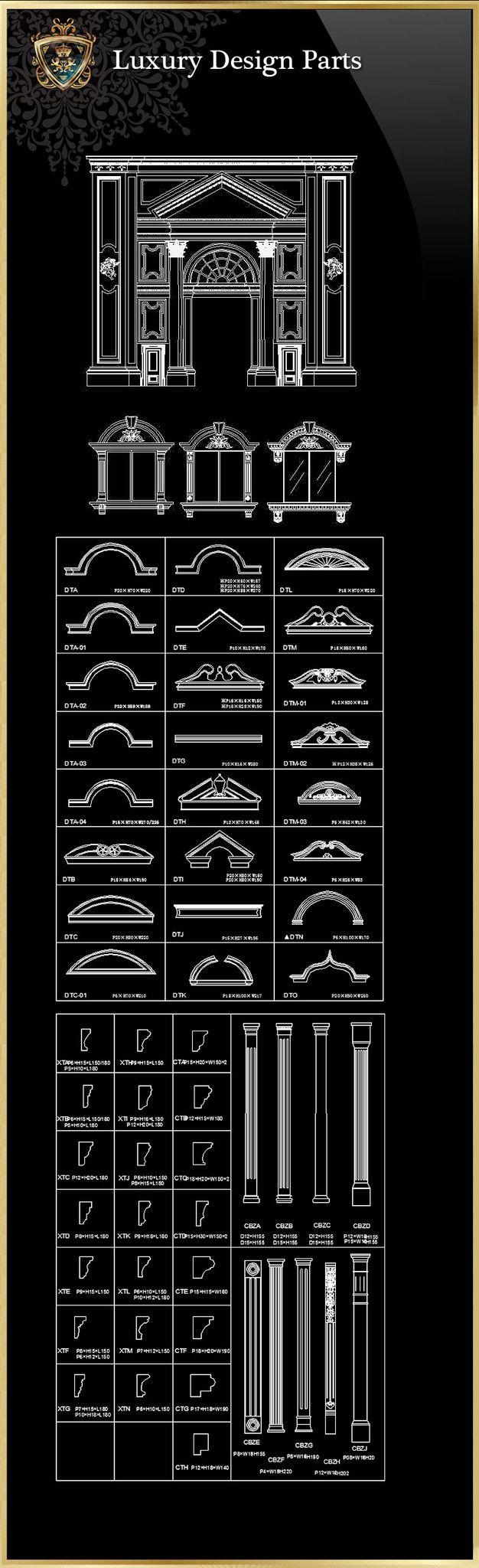 Royal Architecture Design Block 1 – CAD Design | Free CAD Blocks,Drawings,Details
