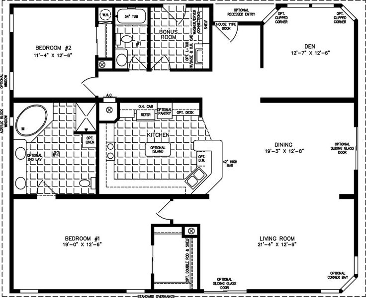 25+ best Manufactured homes floor plans ideas on Pinterest | Small ...
