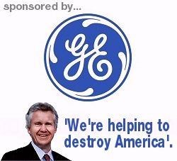 GE Filed 57,000-Page Tax Return, Paid No Taxes on  $ 14 Billion Dollars in Profits. GE also closed most if not all of its domestic light bulb production & moved jobs overseas.