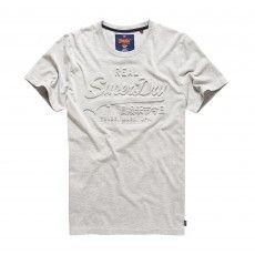 Superdry Vintage Logo heren grey marl @superdry. #superdry