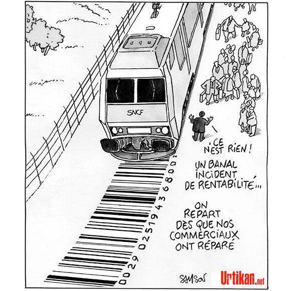 Les lignes Intercités trop coûteuses