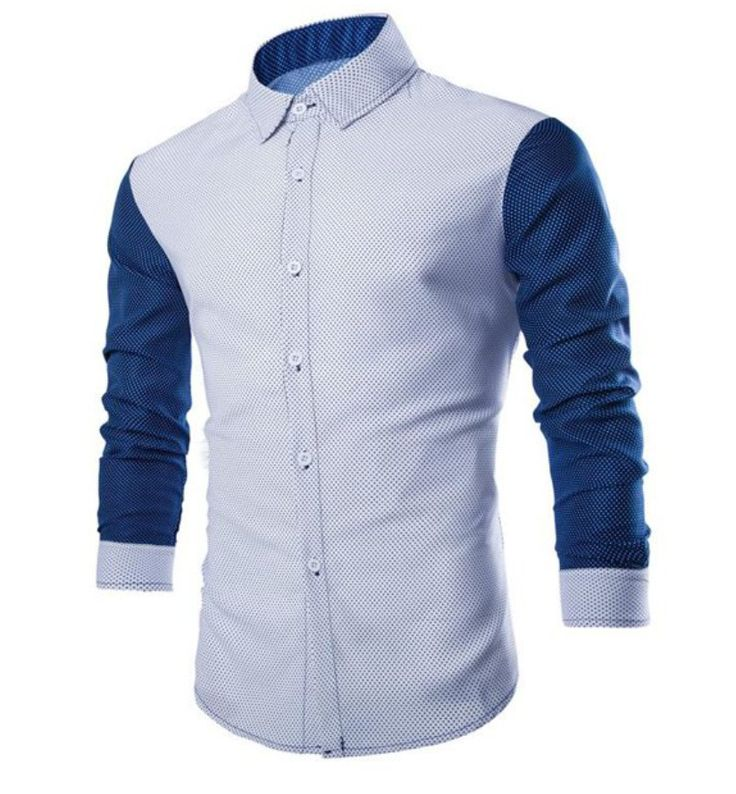 Shirts Type: Casual Shirts Material: Cotton,Polyester Sleeve Length: Full Collar: Turn-down Collar Weight: 0.217KG Package Contents: 1 x Shirt PLEASE ALLOW 5-10 DAYS FOR DELIVERY