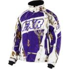 FXR Women's Helix AP Snow / AP Purple Snowmobile Jacket #purple #snow #snowmobile #firstplaceparts www.firstplaceparts.com