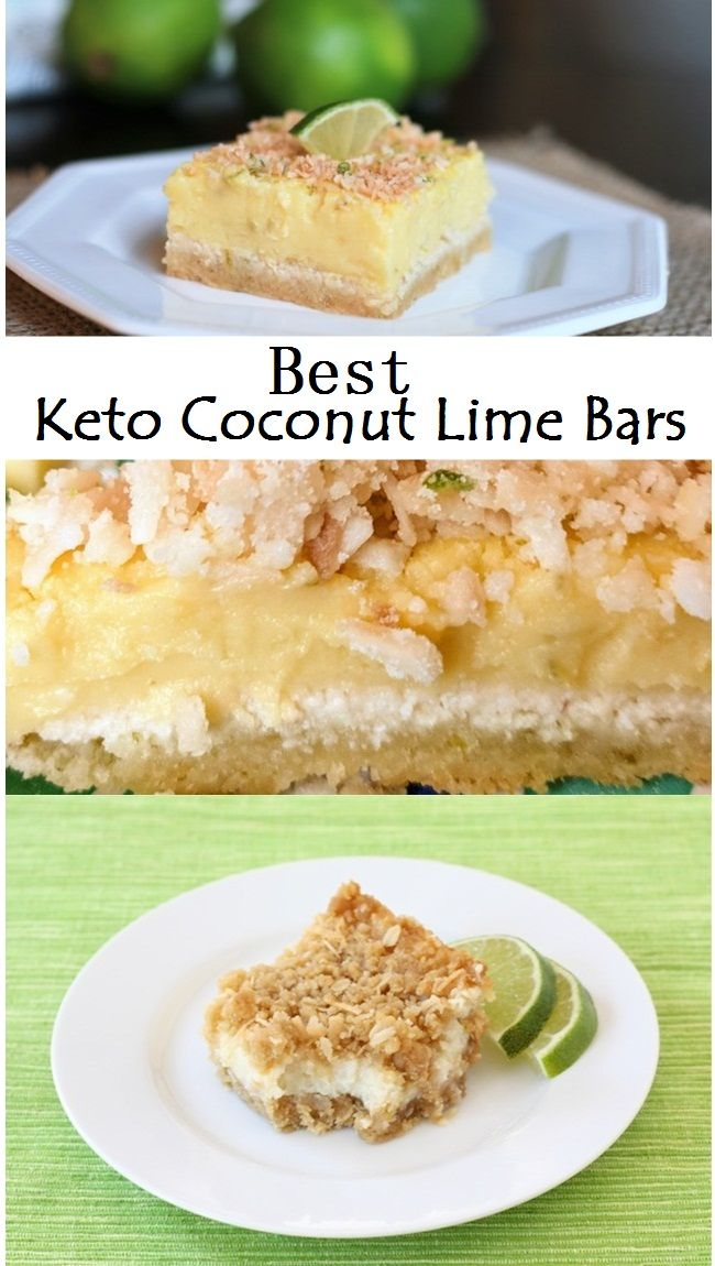 Best Keto Coconut Lime Bars Resep